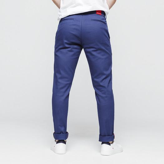 Chino bleu 1083 coton bio