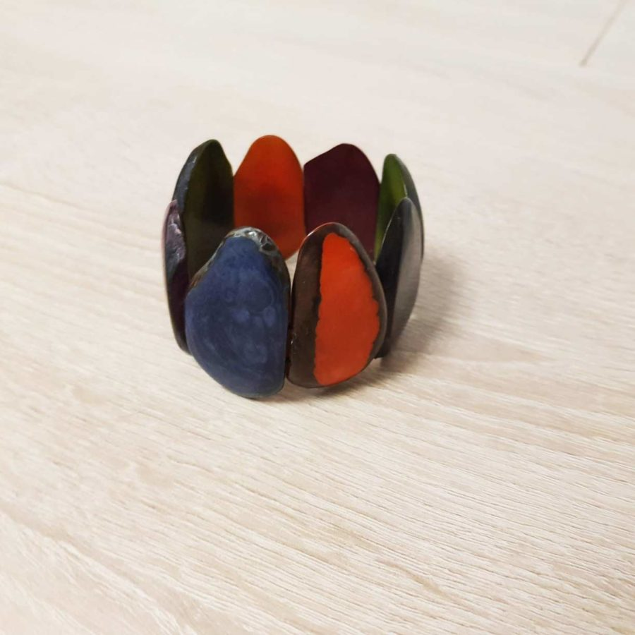 bracelet en ivoire végétale Tagua