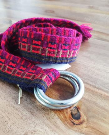 ceinture tissée main wayuu colorée