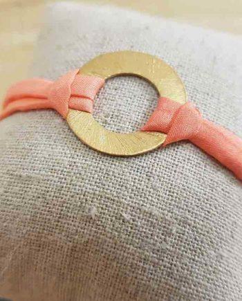 bracelet l'or du sud ylume corail