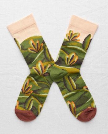 chaussettes bonne maison cyprès multiciolors