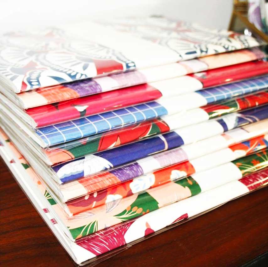 cahier A5 papier recyclé Atelier Bobbie