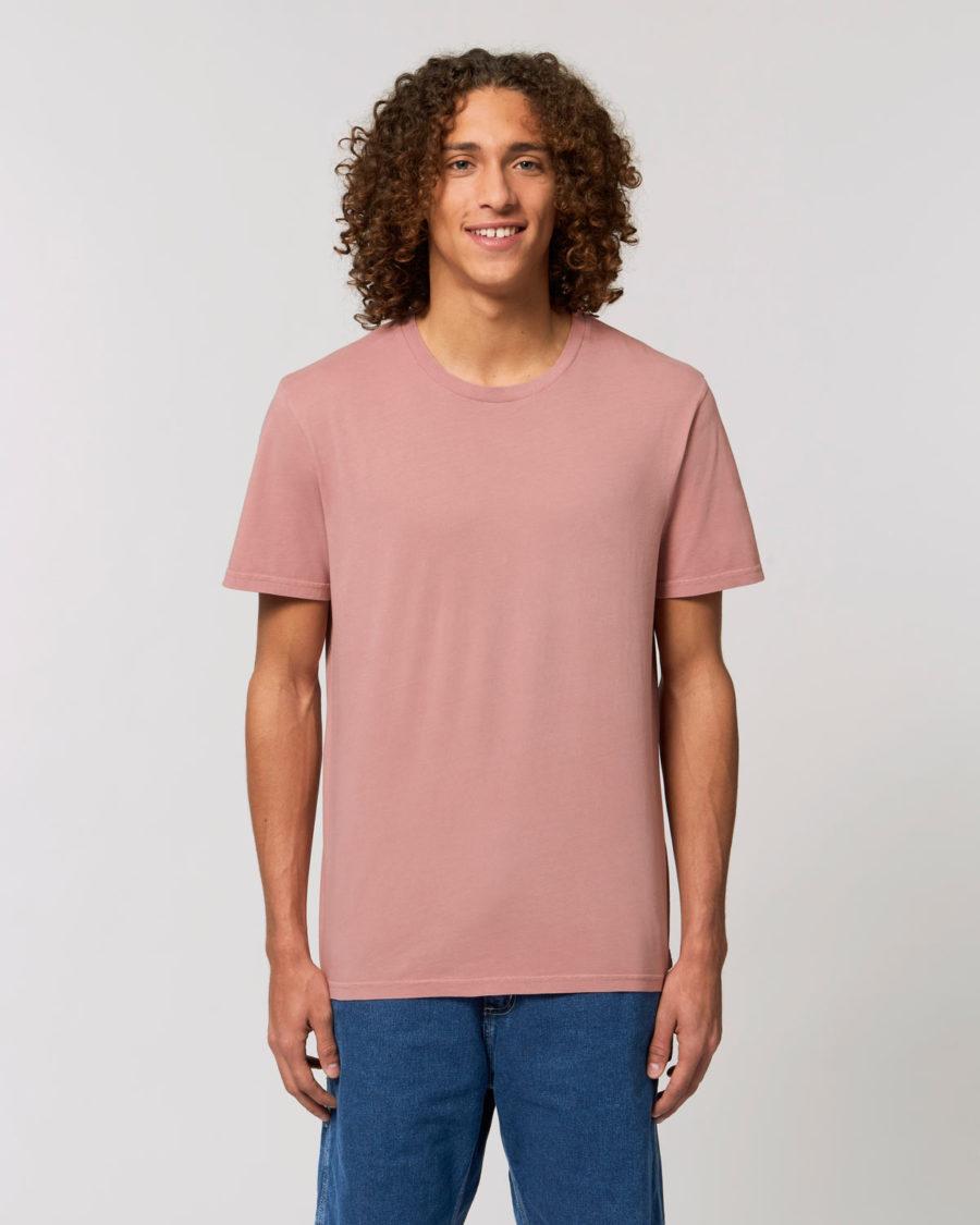tee-shirt coton bio rose vintage steezstudio steez