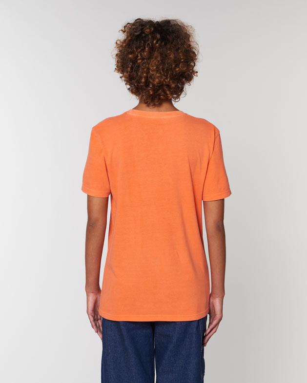 tee-shirt coton bio orange vintage steezstudio steez