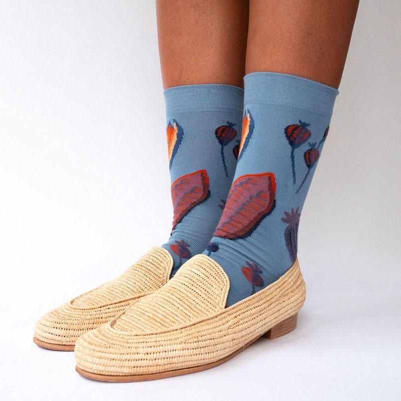 chaussettes bonne maison graine orage