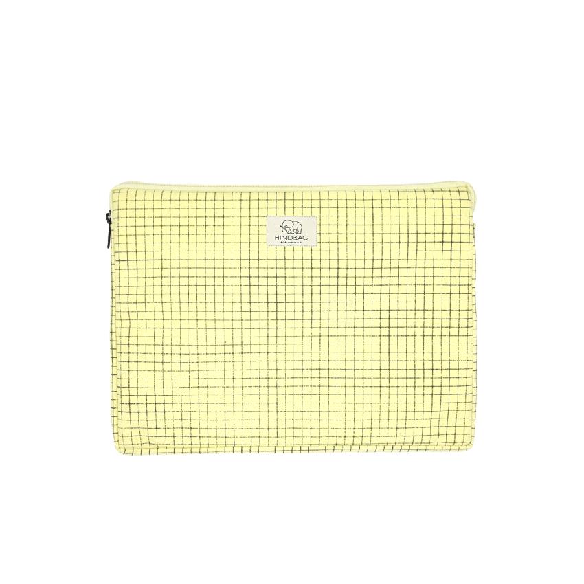 housse d'ordinateur jaune bristol hinbag
