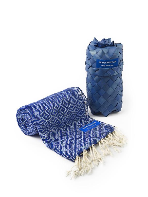 Le Petit Krama Chaud Bleu Indigo