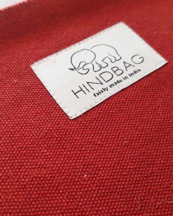 petite pochette rouge terracotta hindbag