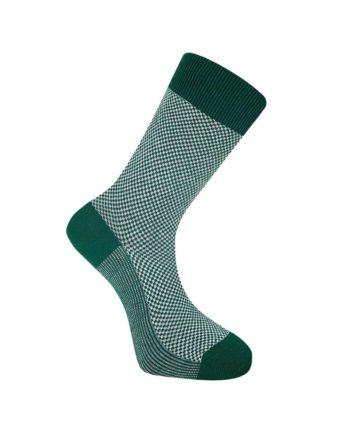 chaussettes komodo dots vert