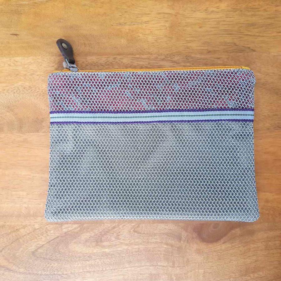 POchette polyester recyclé grise