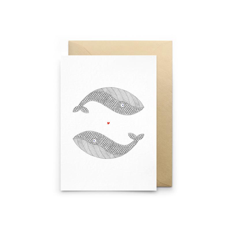 carte baleine ronde petit gramme