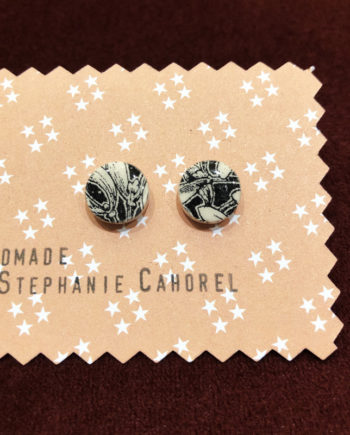 boucles d'oreille céramique Stéphanie cahorel
