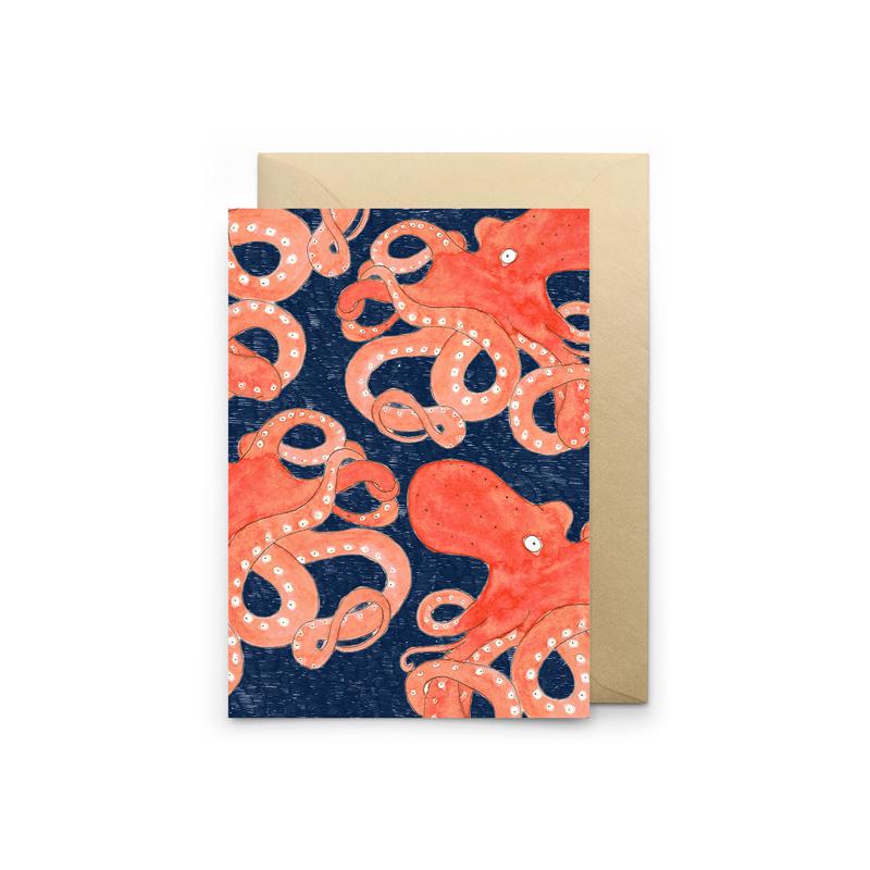 carte poulpe bleu petit gramme