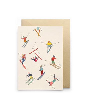 carte skieurs petit gramme