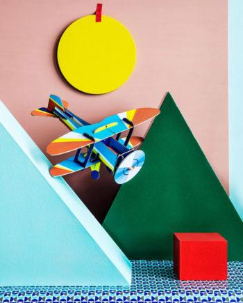 avion biplane studio roof