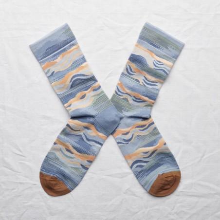 chaussettes bonne maison vague orage