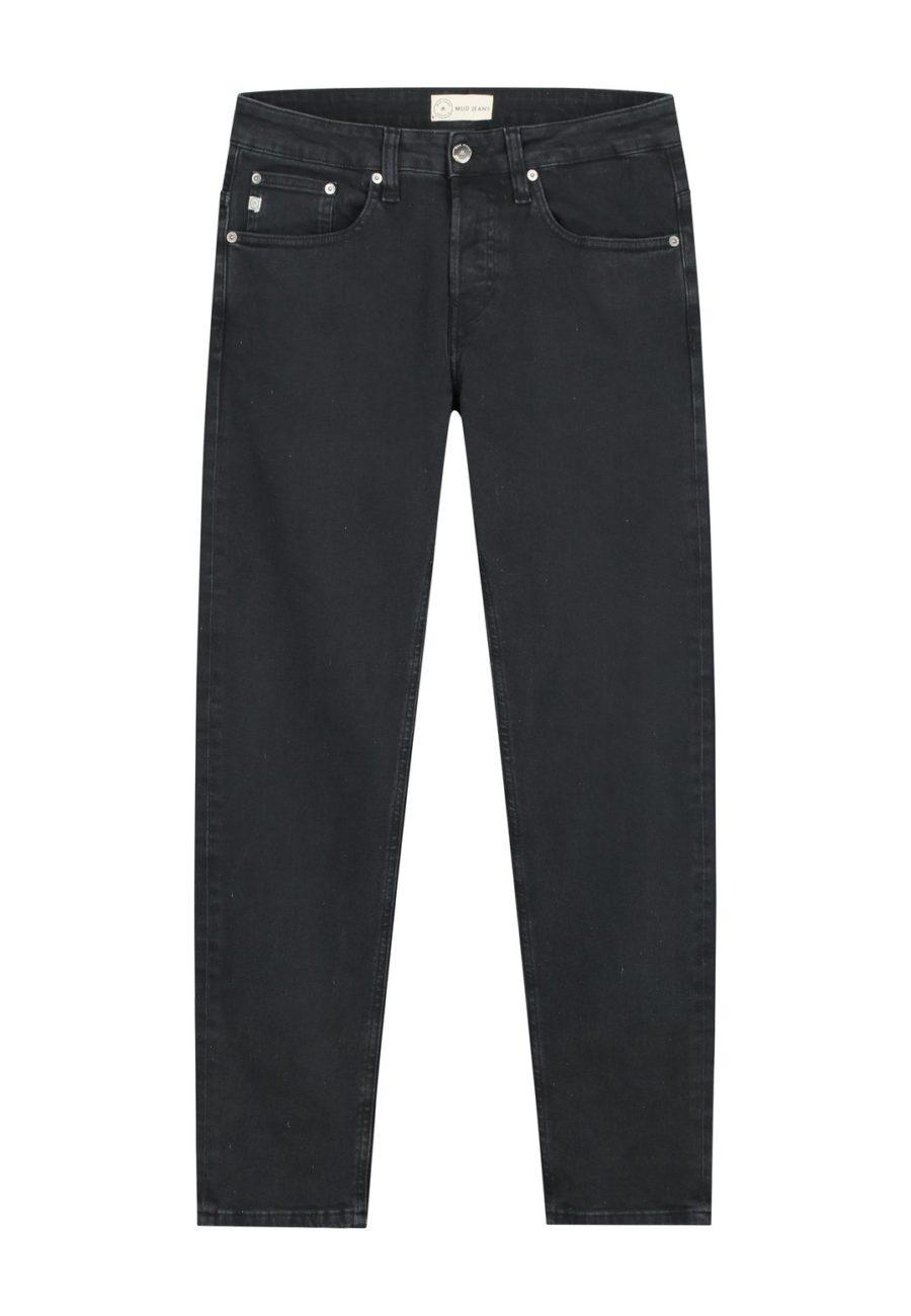jean regular dunn stone black mud jeans 6