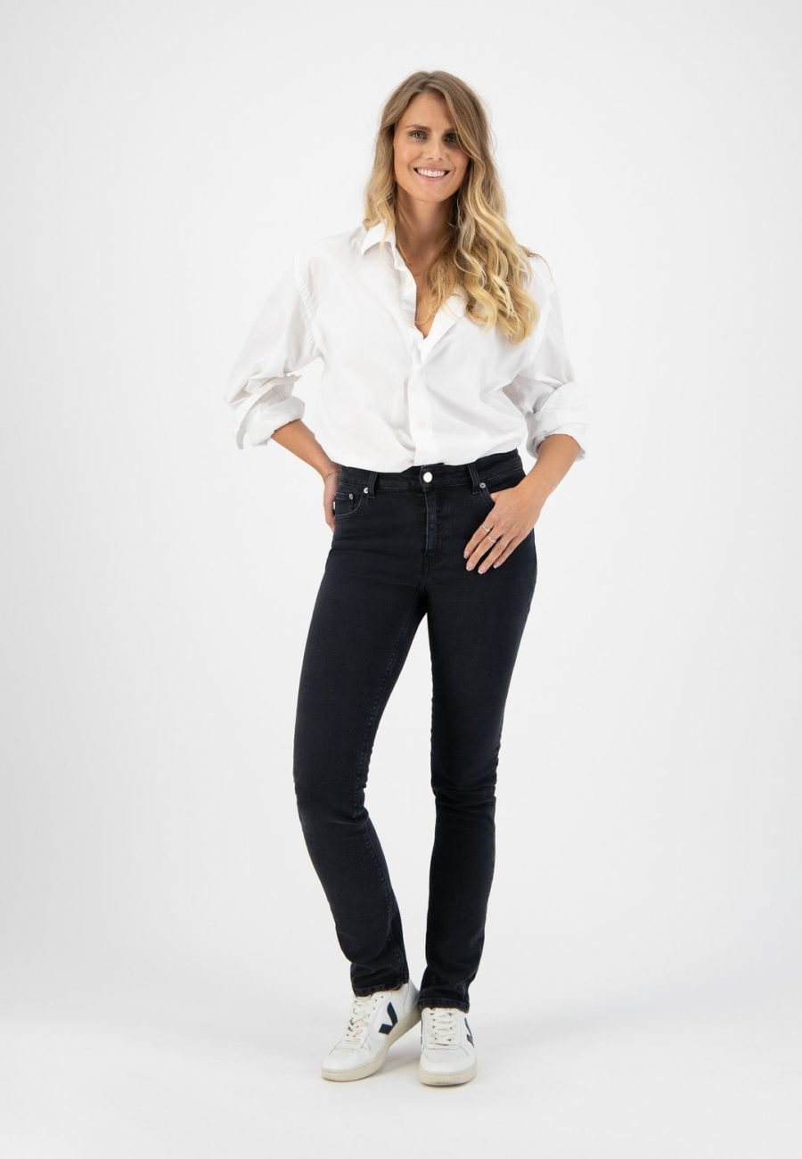 jean regular swann stone black mud jeans 1