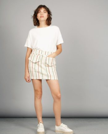 cargo skirt stripes Komodo