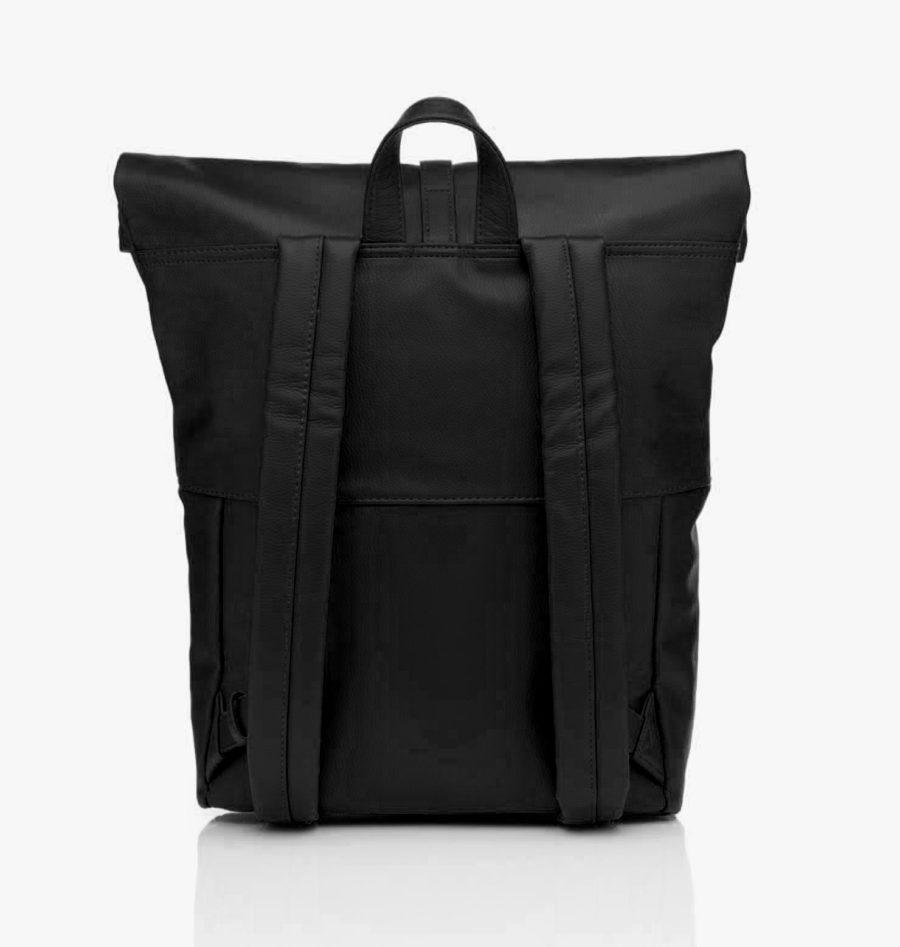 sac à dos cuir vegan noir