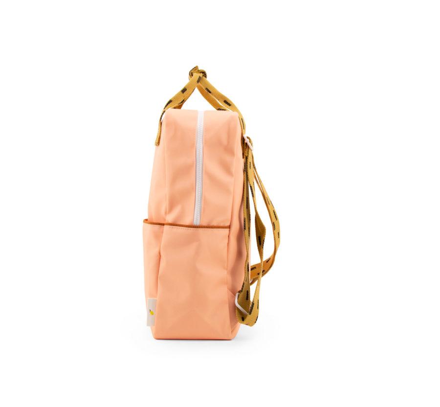 sac à dos saumon polyester recyclé