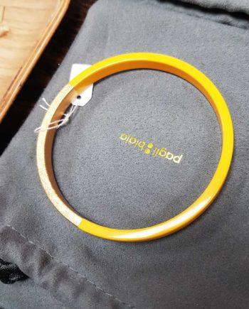 bracelet trinity rond jaune