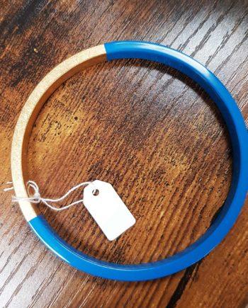 bracelet trinity bleu azur