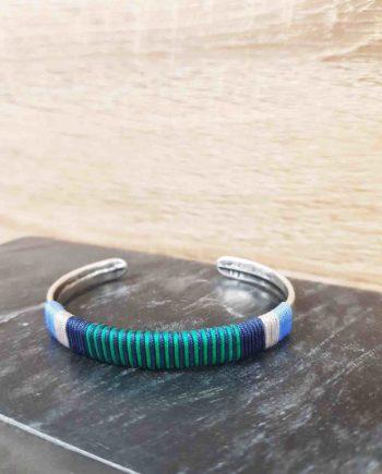 Bracelet guatapuri bleu marine