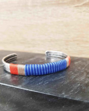 Bracelet guatapuri bleu roi
