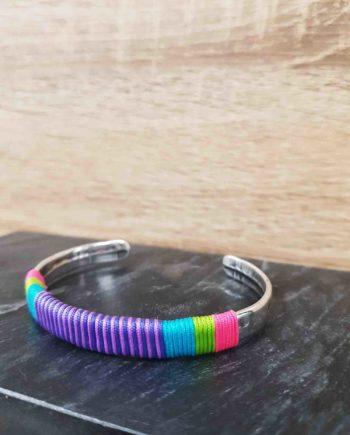 Bracelet guatapuri violette