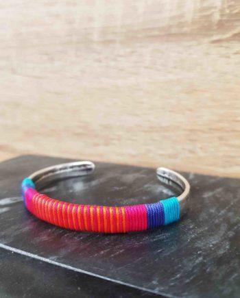 Bracelet guatapuri fuchsia