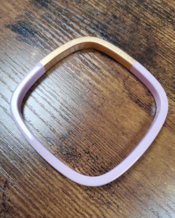 Bracelet carré pastel